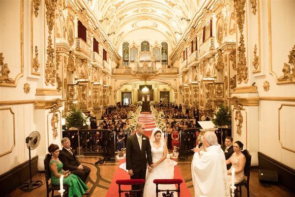 Casamento de Antiga Sé e Salão Nobre Fluminense