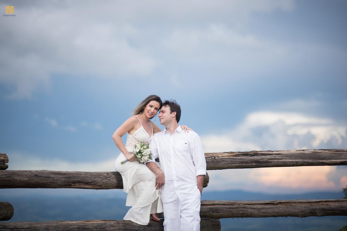 Foto de Elismara e Pedro