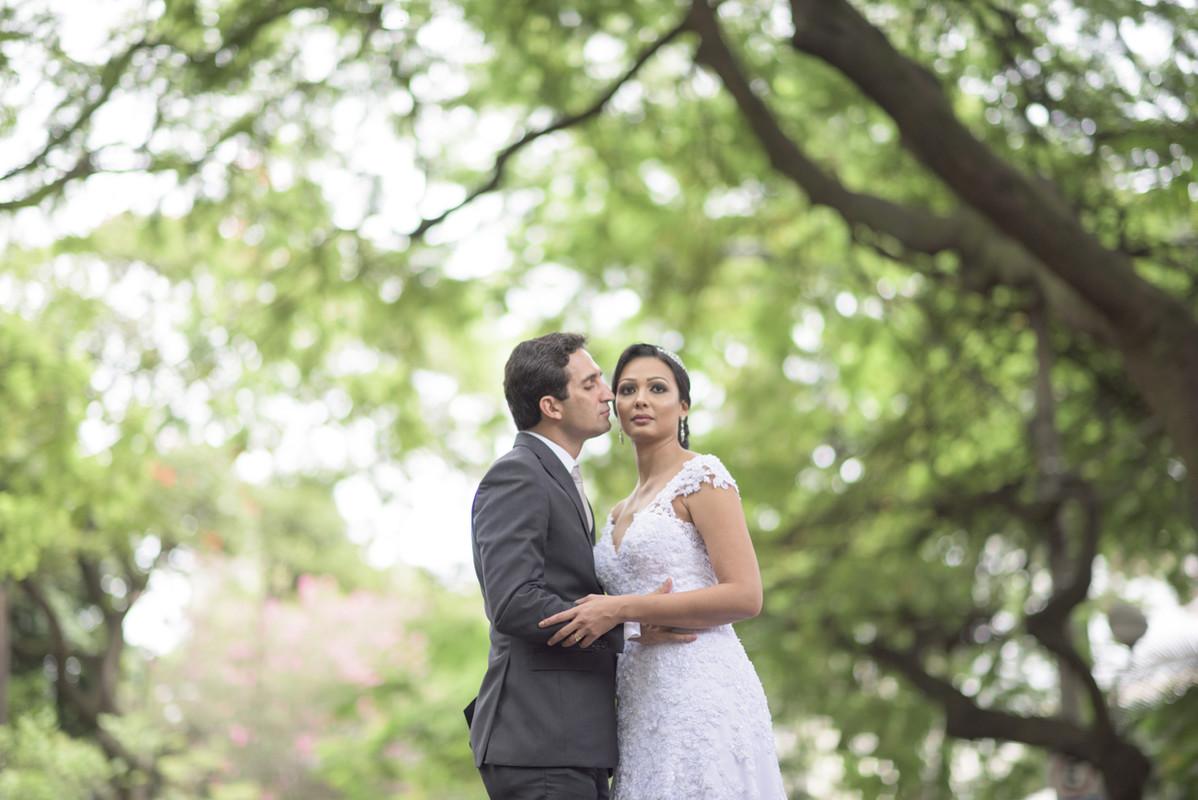 Foto de Priscilla e João