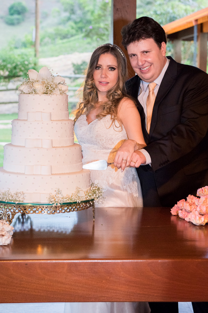 Foto de Mariana e Sérgio