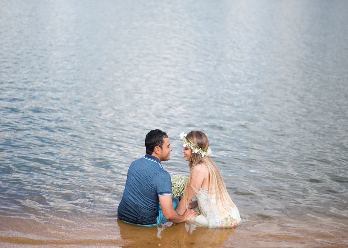 Foto de Érika e Davi