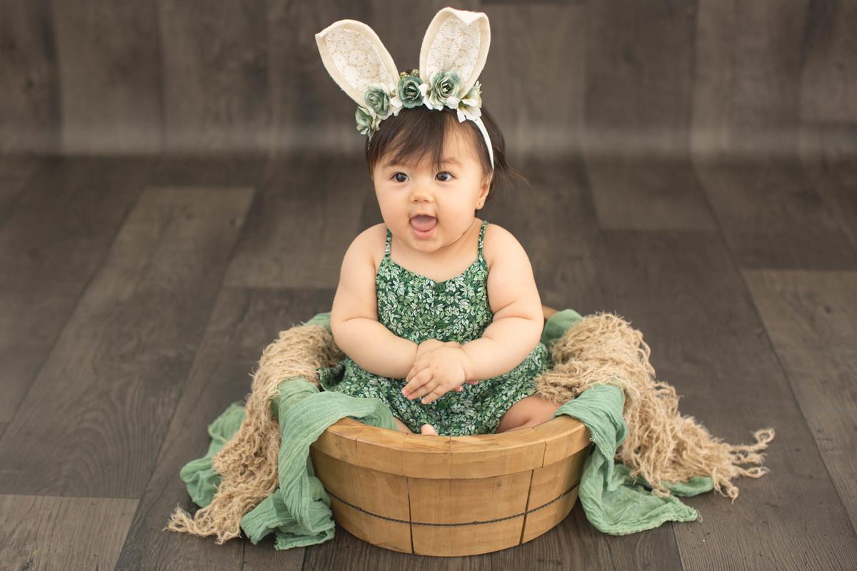 fotos de bebe de páscoa