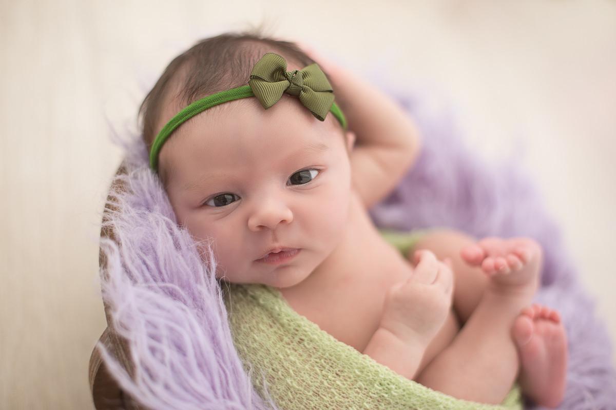 fotografia de recém-nascido nascido