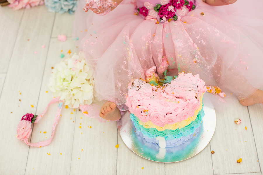 fotos de ensaio smash the cake