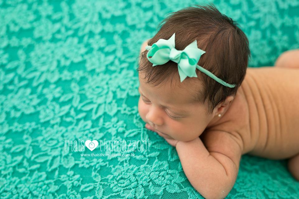 estudio para ensaio de recém-nascido