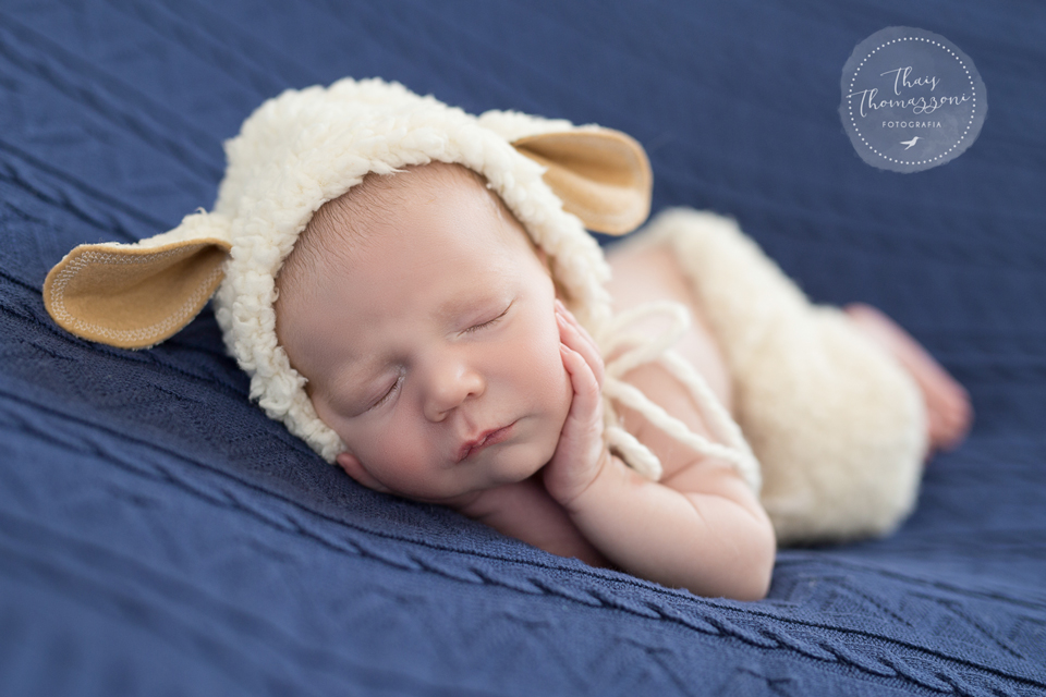 ensaio de recém-nascido
