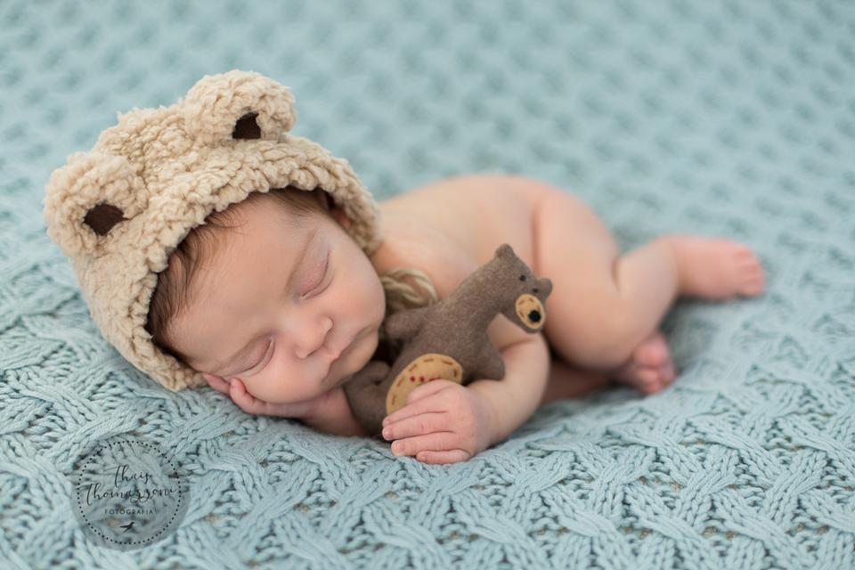 ensaio de fotografia Newborn Benjamin