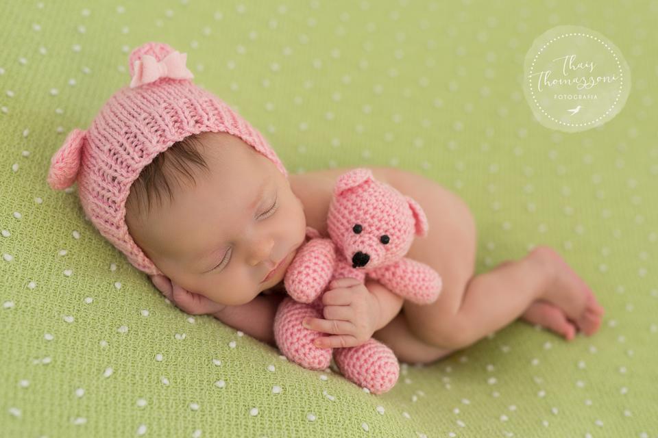 inspiracão de foto de ensaio de newborn