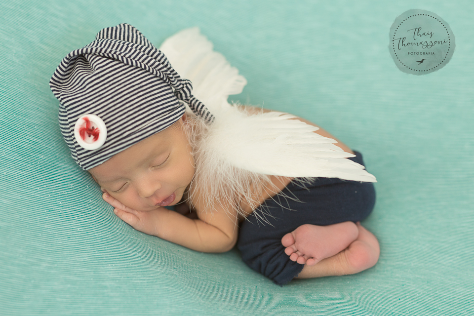 ensaio newborn menino