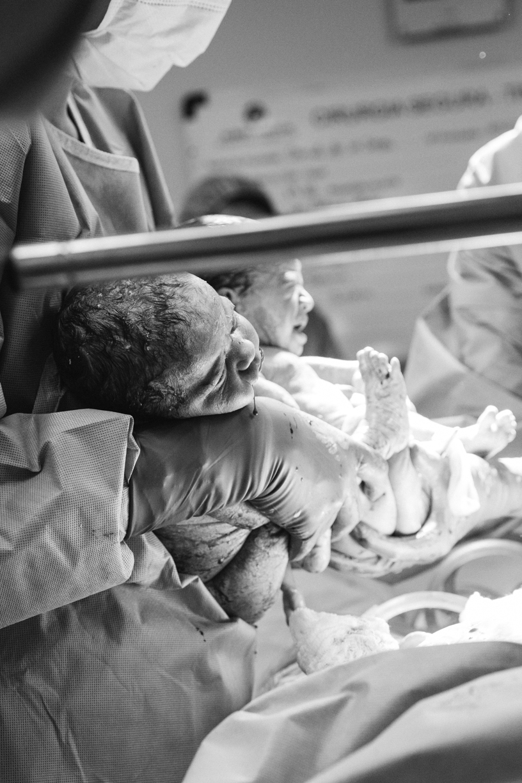fotografia de nascimento