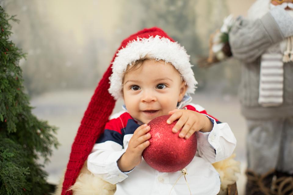 ensaio de fotos de natal