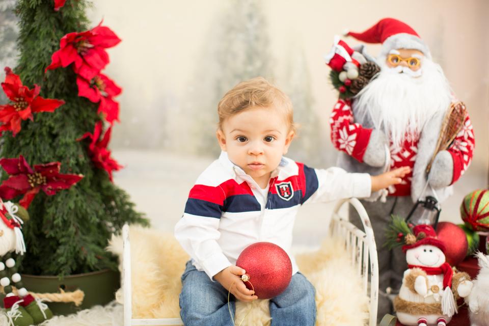 ensaio fotografico de natal