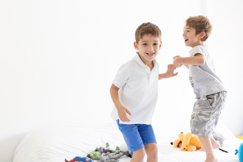 fotografia de infantil em casa