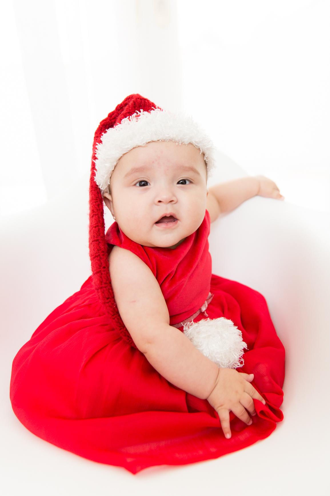 mini ensaio de fotos de natal