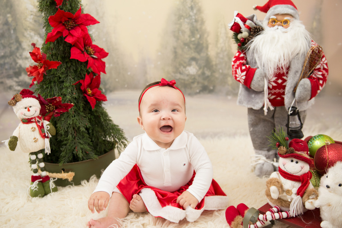 fotos de crianca de natal