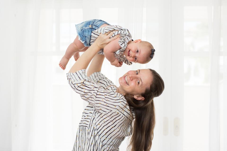 ensaio de mãe e filha