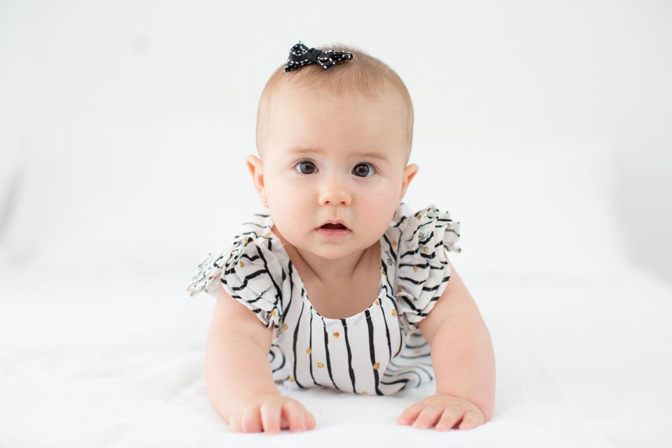 fotos de bebe mensal