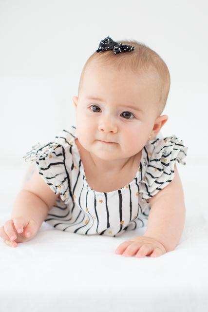 fotos mensal de bebe
