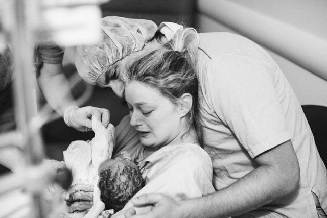 fotos de parto normal