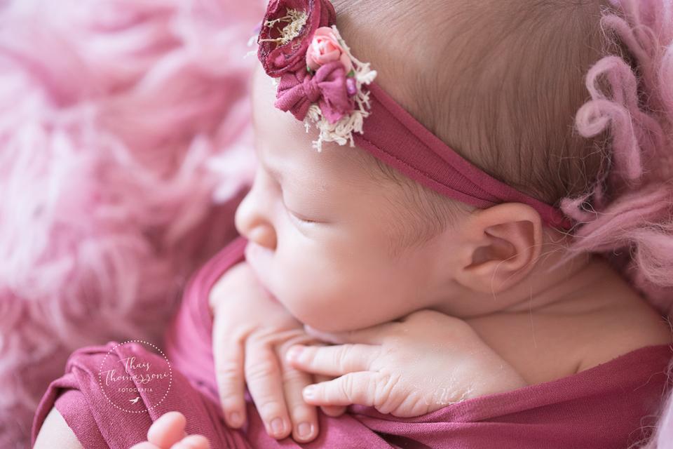 fotos de newborn de menina