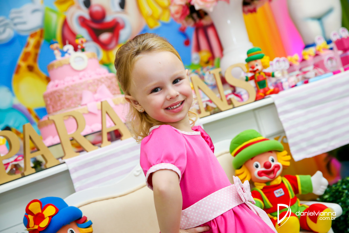 Foto de Aniversário 3 Anos Beatriz
