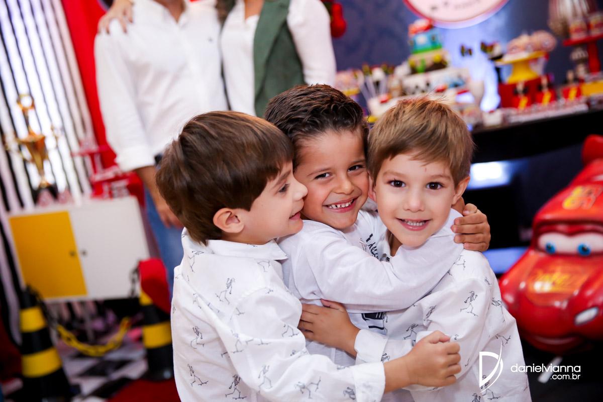 Foto de Aniversário 4 Anos Antonio e Henrique