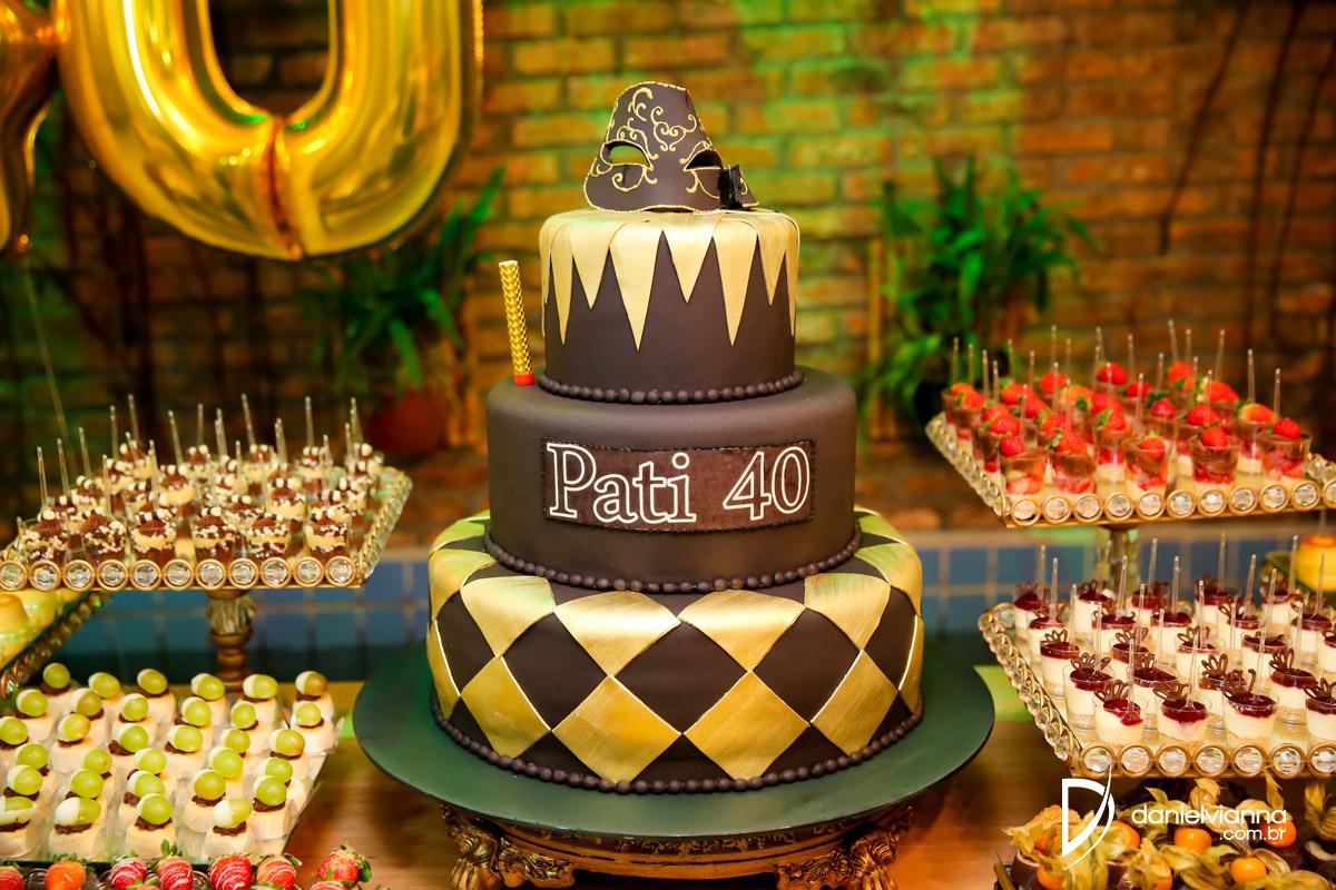 Foto de Aniversário 40 Anos Patrícia