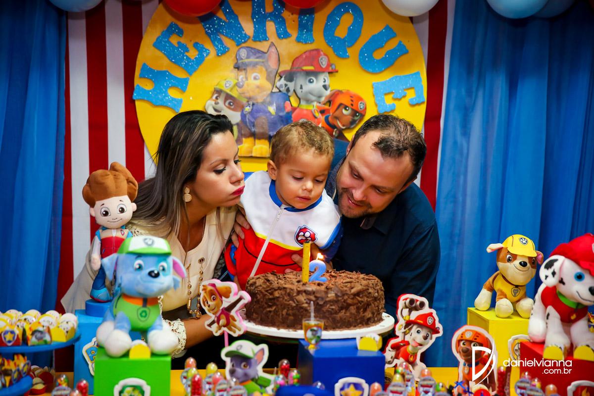 Foto de Aniversário 2 Anos Henrique