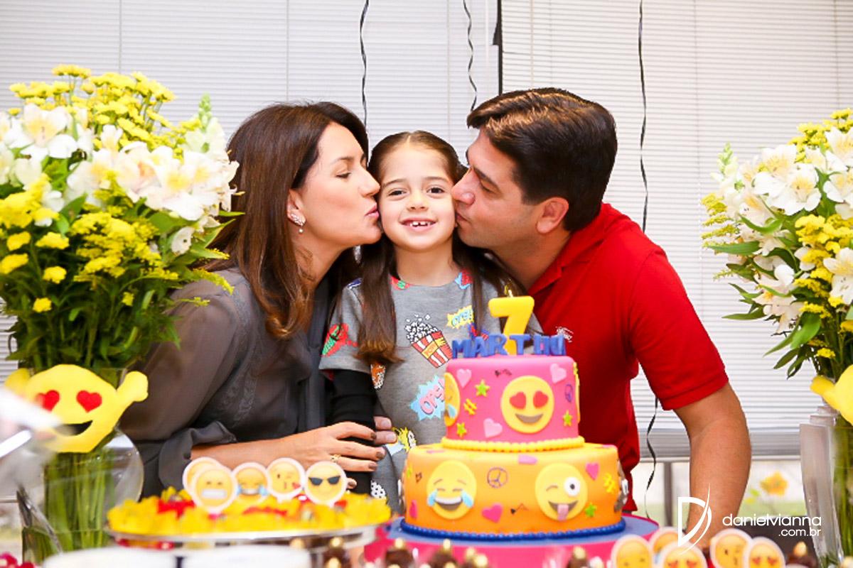 Foto de Aniversário 7 Anos Martina