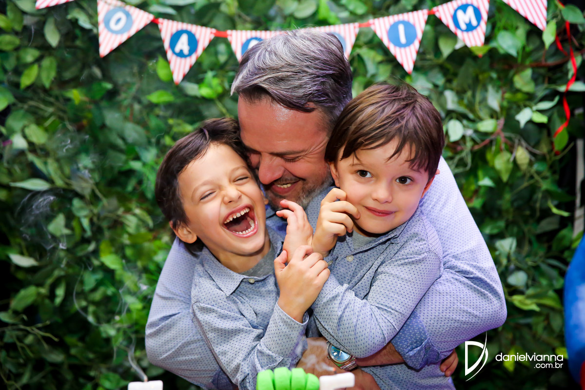 Foto de Aniversário 5 Anos Joaquim e Antônio