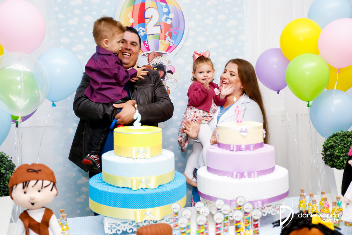 Foto de Aniversário 2 Anos Ana Vitoria e Carlos Henrique