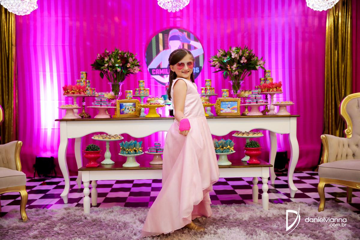 Foto de Aniversário 8 Anos Camila