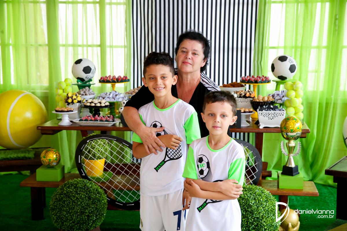 Foto de Aniversário 8 Anos Nicolas e 6 Anos Manoel