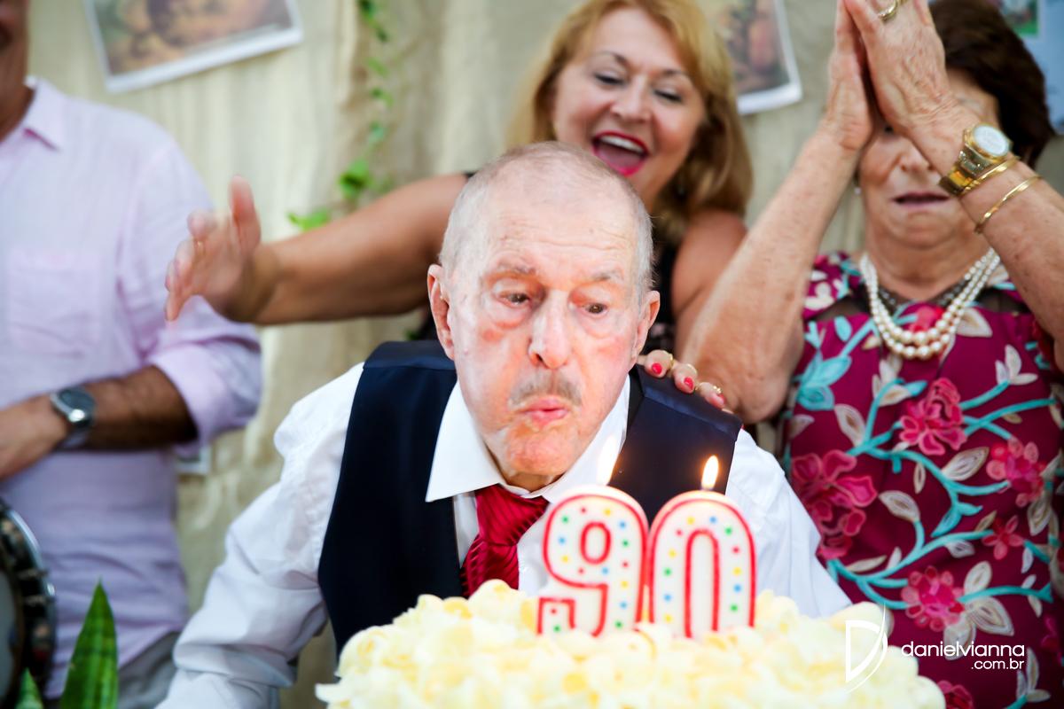 Foto de 90 Anos Sr.Alcides