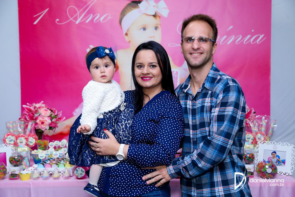 Foto de Aniversário 1 Ano Lavínia