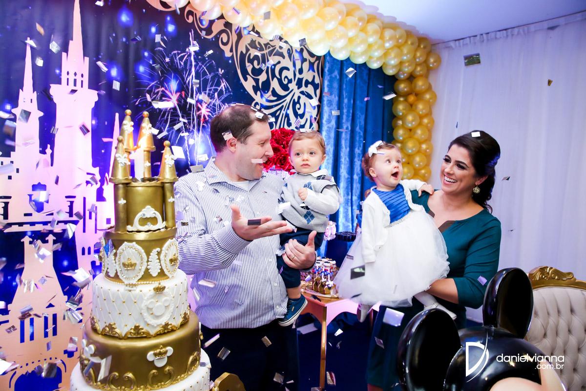 Foto de Aniversário 1 Ano Maitê e Thiago