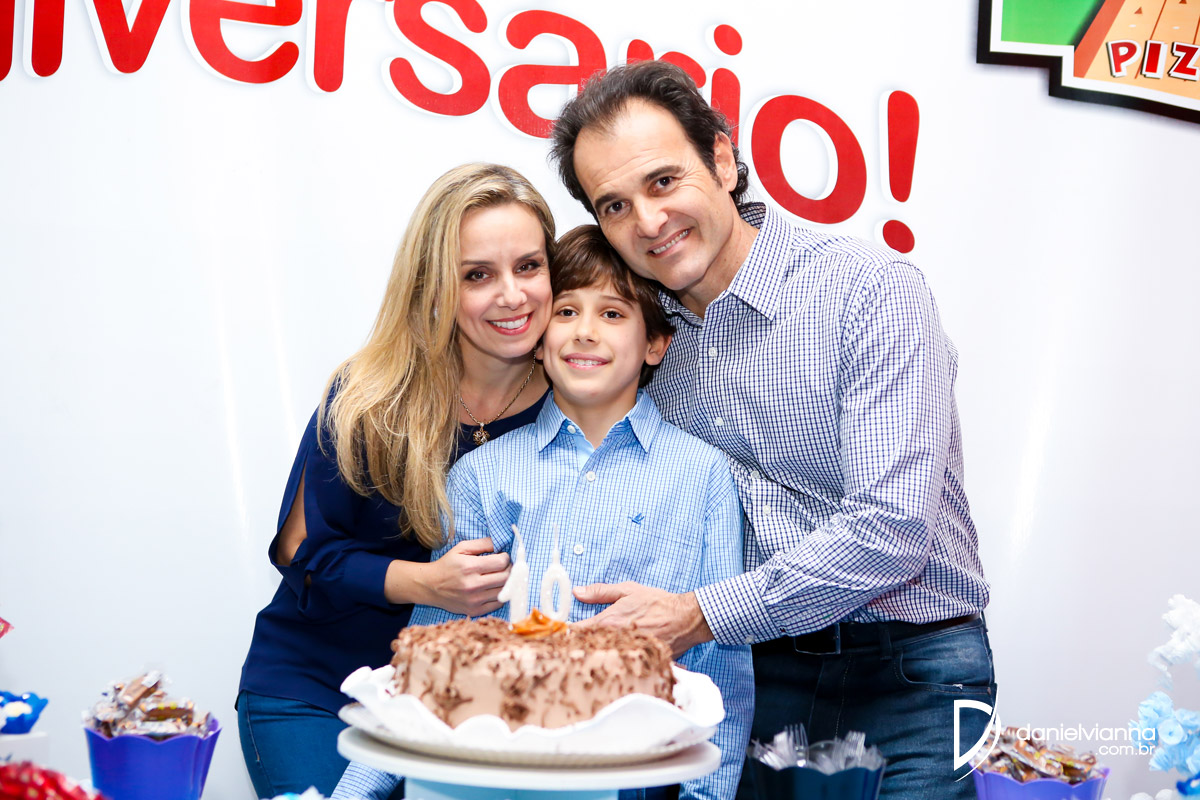 Foto de Aniversário 10 Anos Alexandre