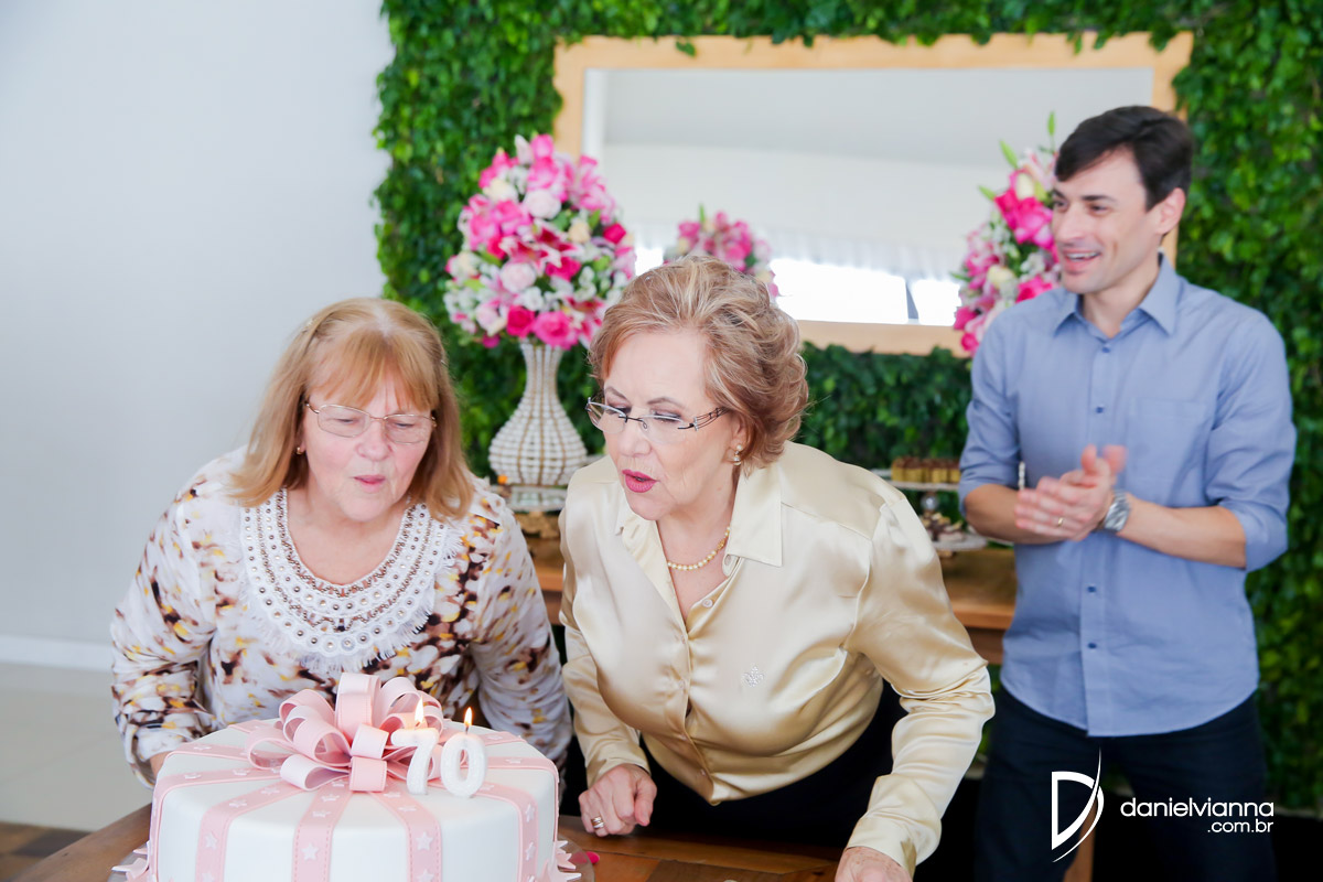 Foto de Aniversário 70 Anos Maria