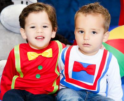 Aniversário 2 Anos João & Miguel