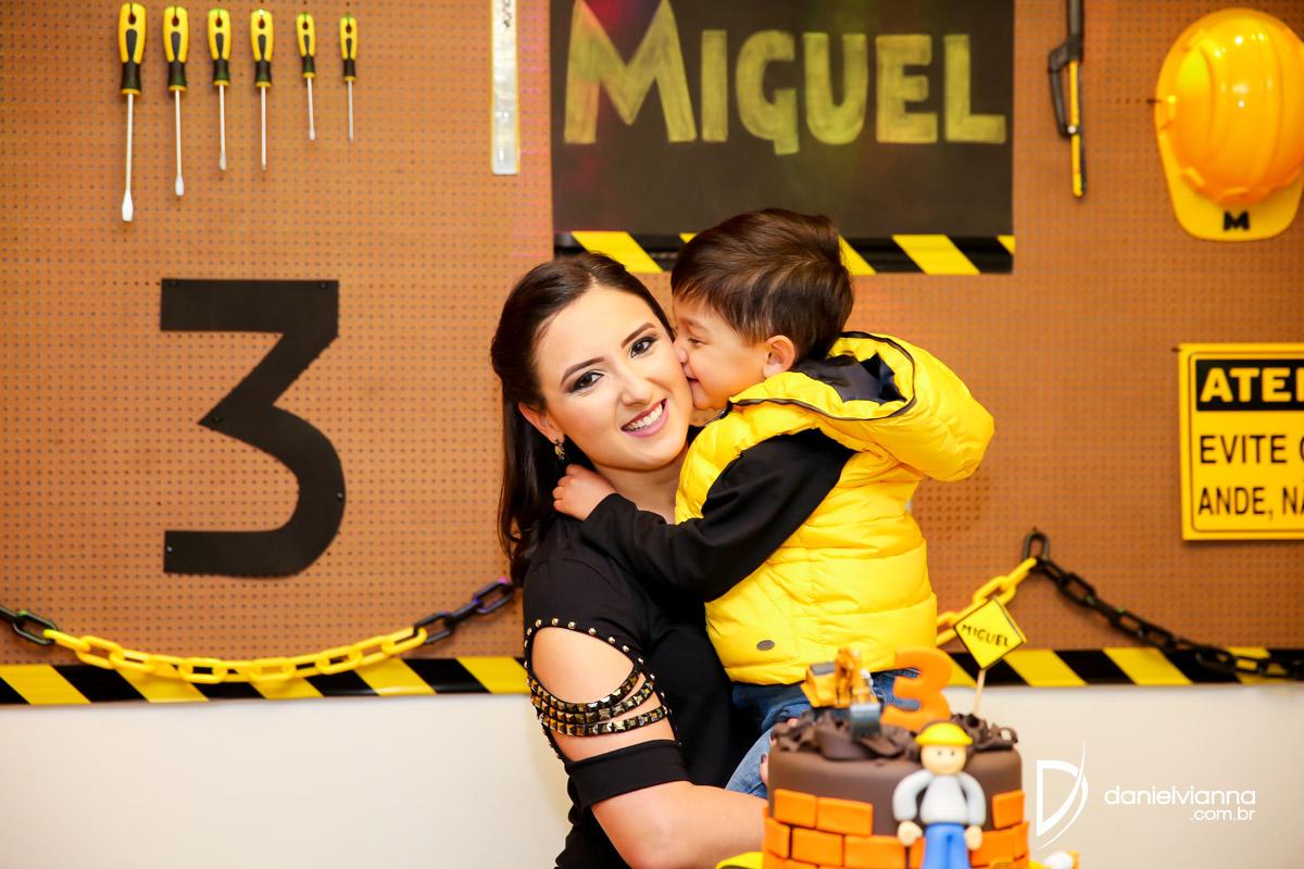 Foto de Aniversário 3 Anos Miguel
