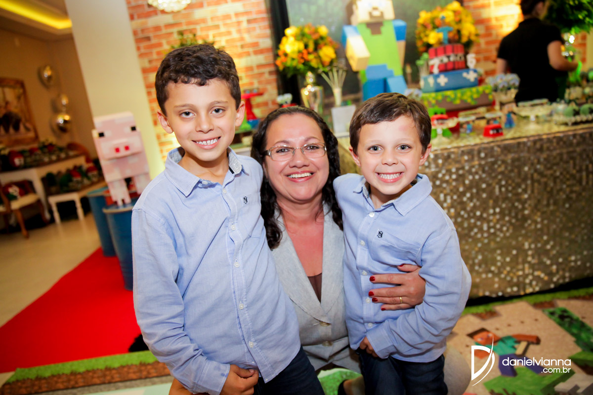 Foto de Aniversário 7 Anos Nicolas e 5 Anos Manoel