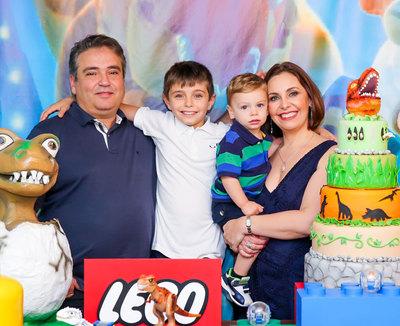 Aniversário 9 Anos Leonardo & 2 Anos Bruno