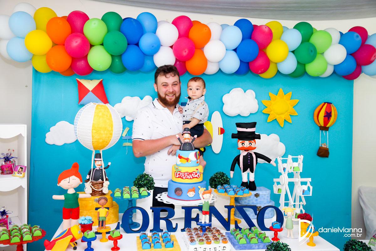 Foto de aniversário 1 ano lorenzo