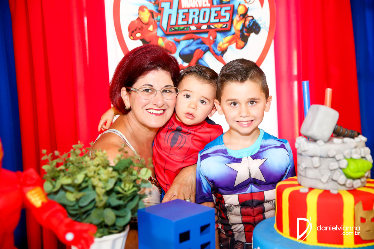Foto de Aniversário 1 Ano Joaquim e 5 Anos Luiz Phillipi