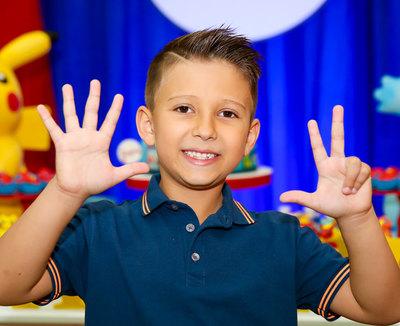 Aniversário 8 Anos Joaquim