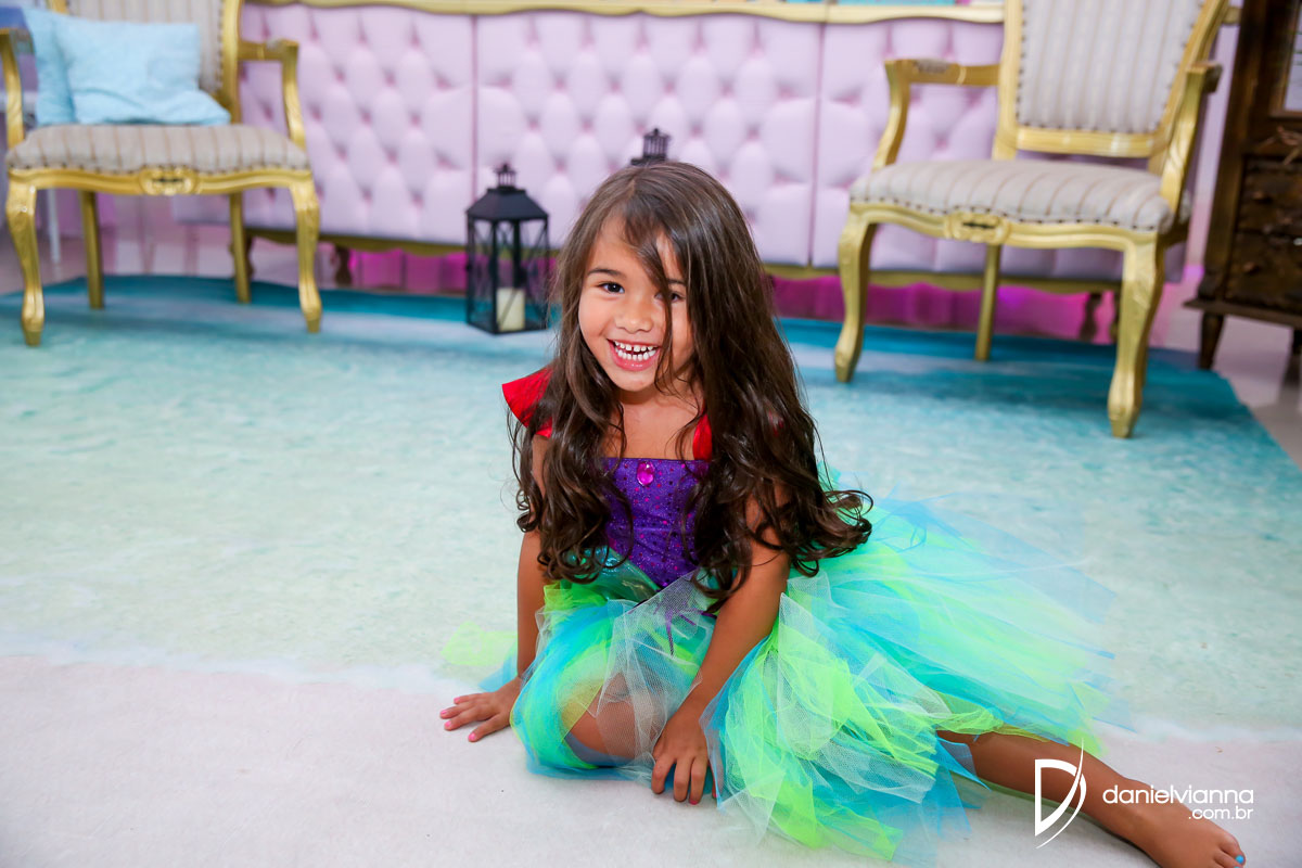 Foto de Aniversário 4 Anos Julia