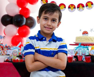Aniversário 7 Anos Giovanni
