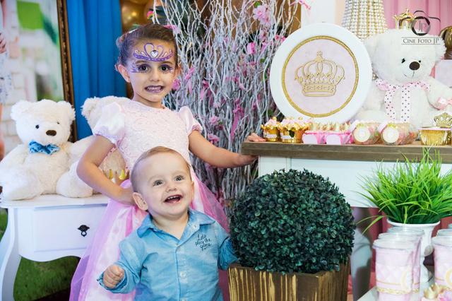 Aniversários de 1 Ano Bernardo & 5 Anos Maria Laura