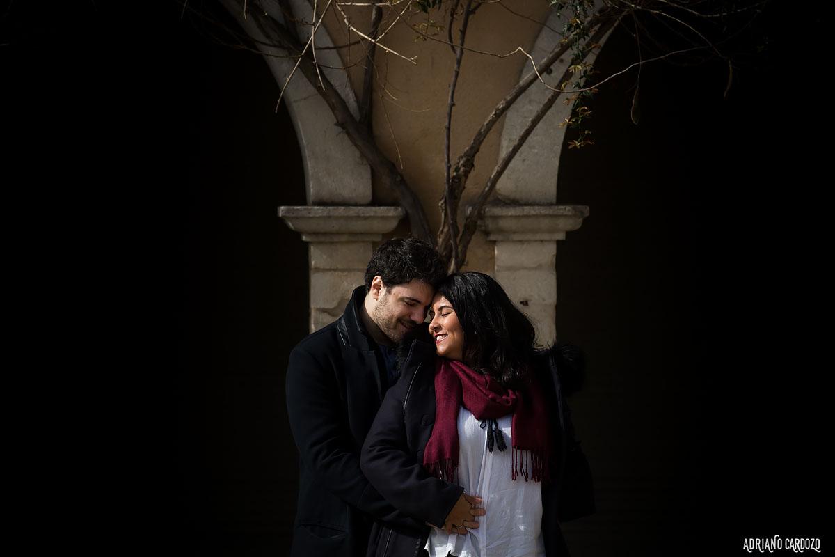 ensaio de casal realizado na frança em uma cidade chamada gabarret pelo fotógrafo adriano cardozo