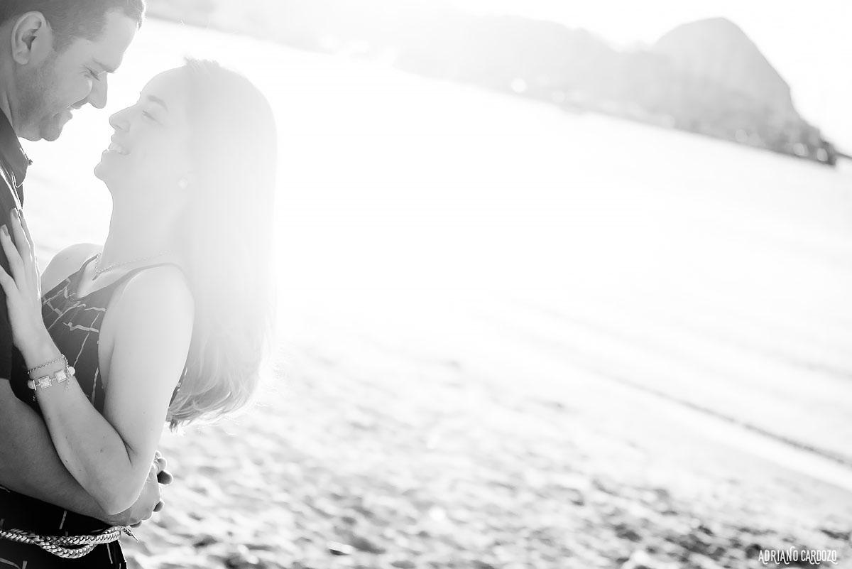 Ensaio fotográfico no por do sol